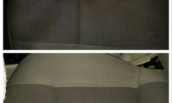 #Voor/Na dieptereiniging/interieurreiniging stoffen zetels